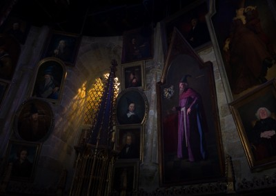 Paintings in Dumbledore's Study