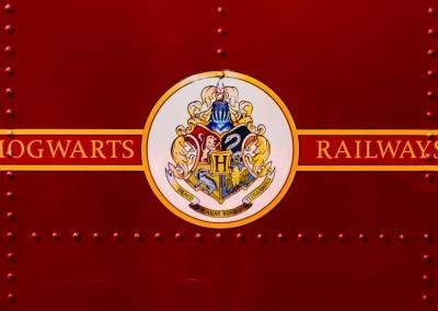 Hogwarts Express livery detail
