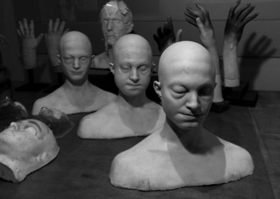 Creature workshop head casts