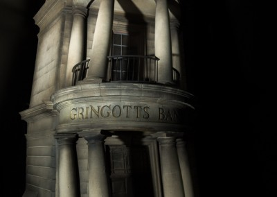 Gringotts Bank miniature model