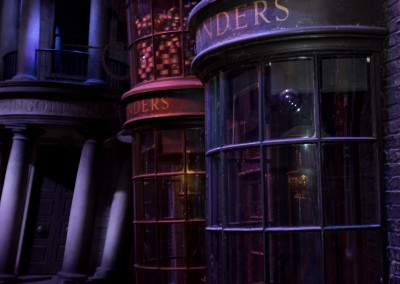 Diagon Alley Olivanders wand store