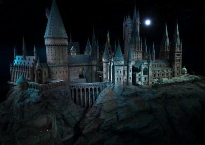Massive model of Hogwarts School of Witchcraft & Wizardry